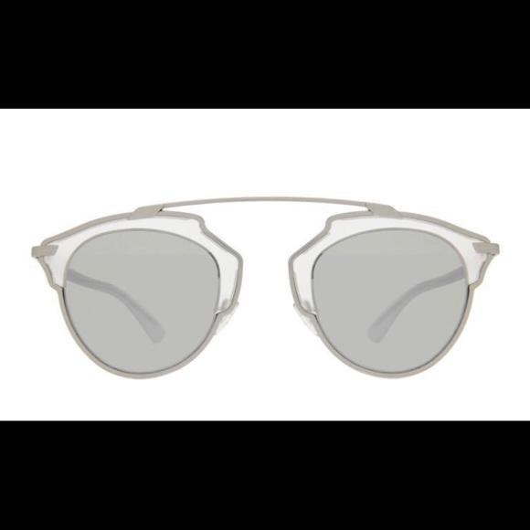 ed9f20ed2980c Silver Dior So Real Sunglasses